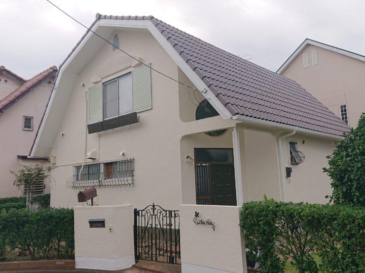 土浦市 N様邸 外壁塗装工事 屋根塗装工事
