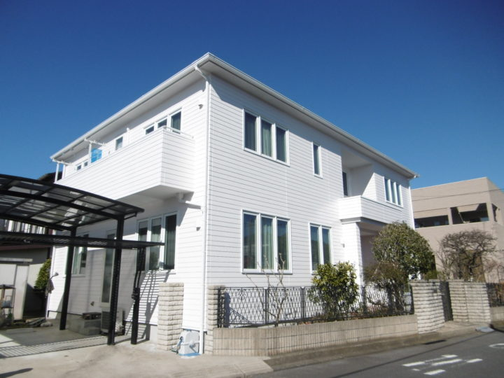 龍ヶ崎市現場完工 外壁・屋根塗装