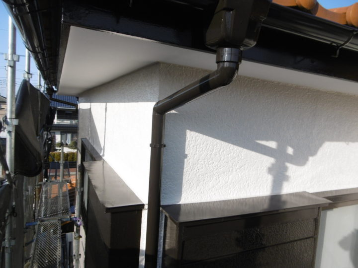茨城・牛久市・S様邸・外壁塗装工事・ガレージ・門塀塗装工事//茨城の土浦市・つくば市・牛久市・龍ヶ崎市・取手市・阿見町で外壁塗装・屋根塗装をするならハウスメイク牛久へ