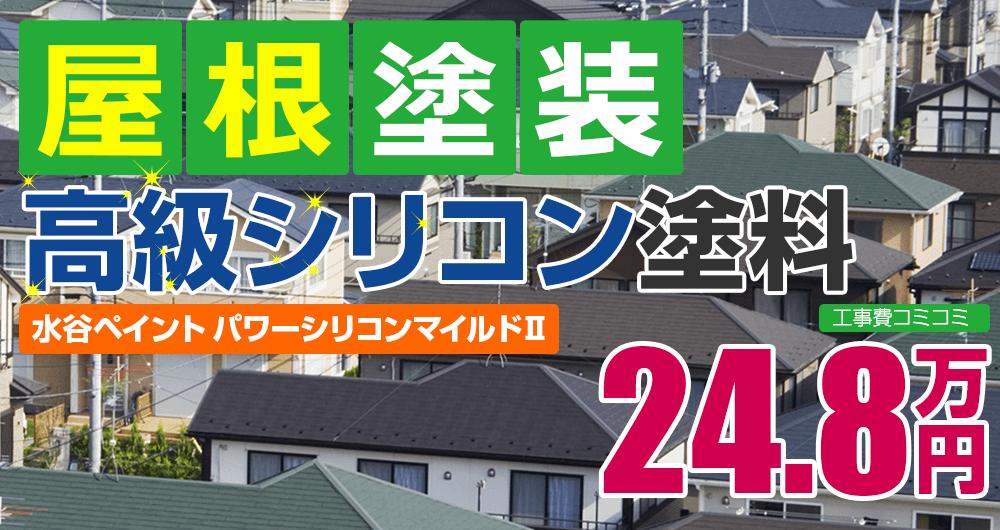 高級シリコン塗装 24.8万円