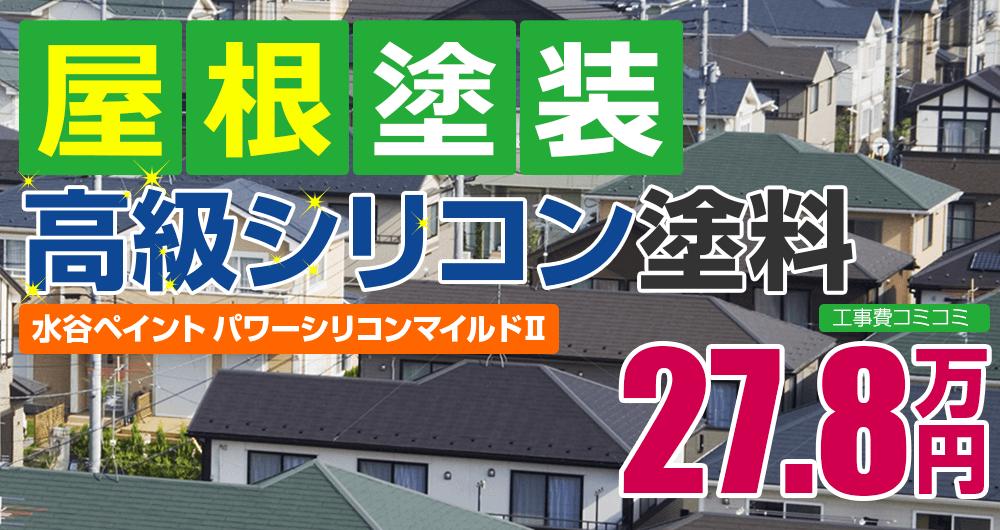 高級シリコン塗装 27.8万円