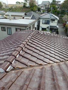 我孫子市 屋根瓦工事 // 茨城県・千葉県の塗装工事はハウスメイクにお任せください。