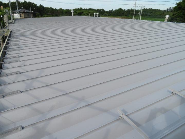 茨城県行方市のX社様 工場屋根塗装の感想 ハウスメイク牛久