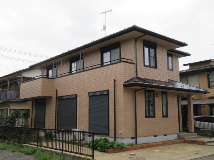茨城県牛久市中央 外壁・屋根塗装 インテグラルコート&ニューアールダンテ