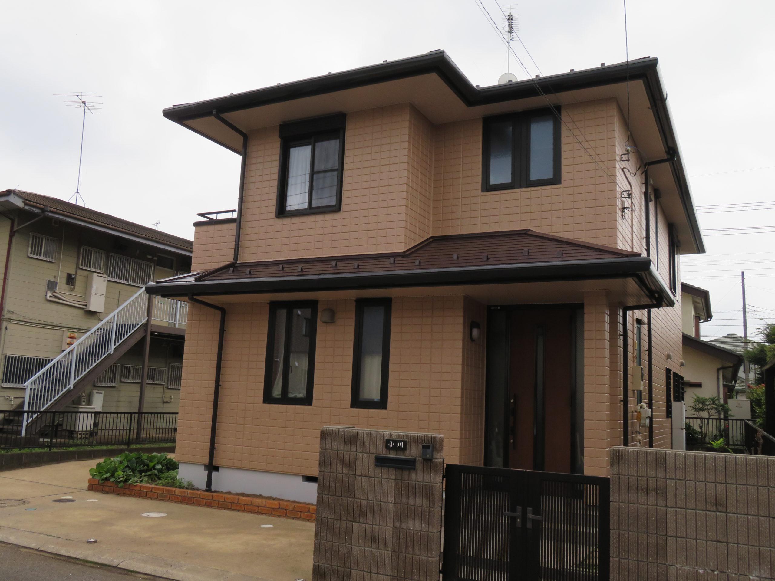 茨城県牛久市外壁・屋根塗装専門店 ハウスメイク牛久 お客様どんどん増えてまーす。