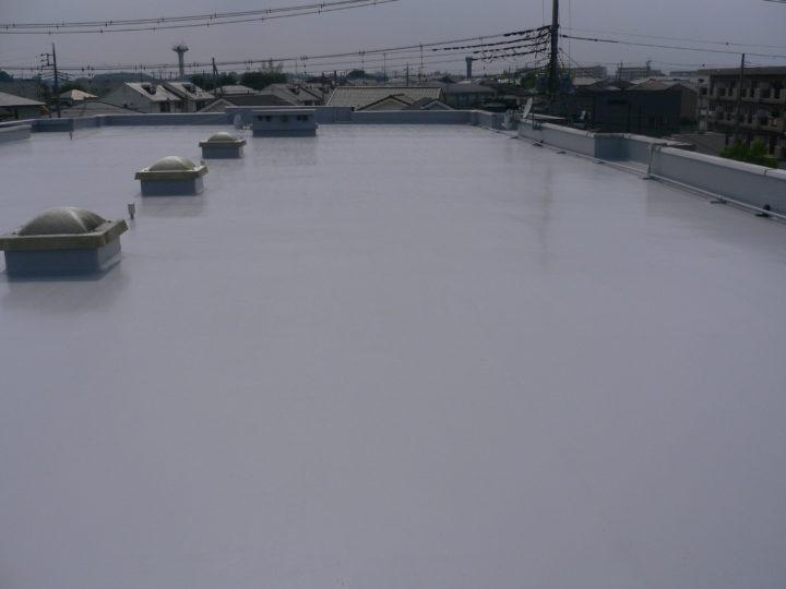 茨城県水戸市マンション屋上 防水改修工事